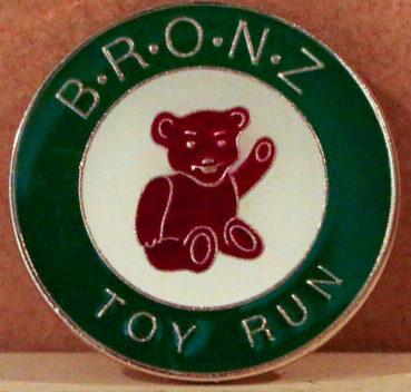 2020 Toy Run Badge